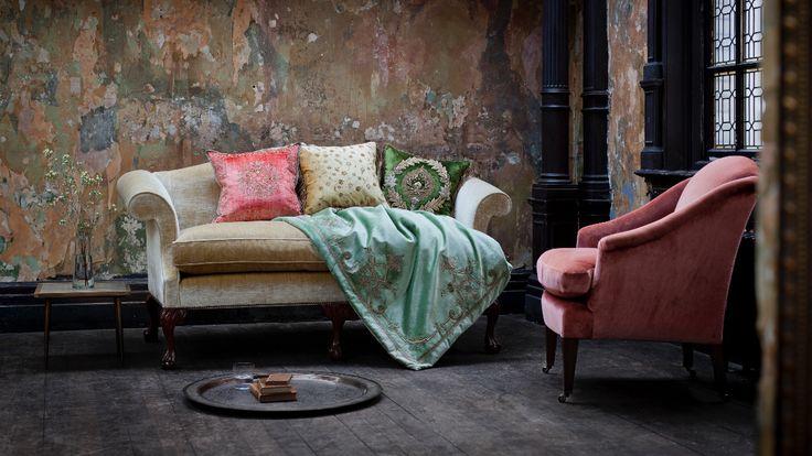 Congreve sofa in Como, Biscuit - Beaumont & Fletcher