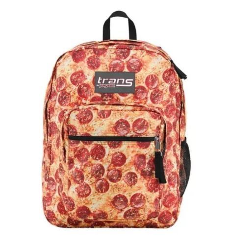"""Trans JanSport Backpack Pepperoni Pizza Fabric! 15"""" Laptop Sleeve NEW Supermax in Clothing, Shoes & Accessories,Unisex Clothing, Shoes & Accs,Unisex Accessories 