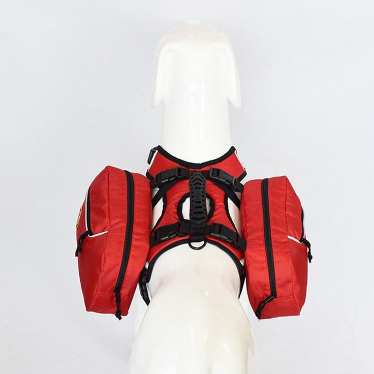 Dog Harness with removable backpack