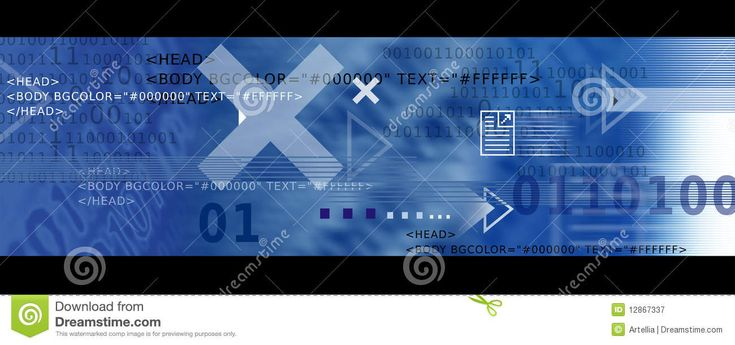 Banner Image / Internet Icons, Arrows   HTML Code Royalty