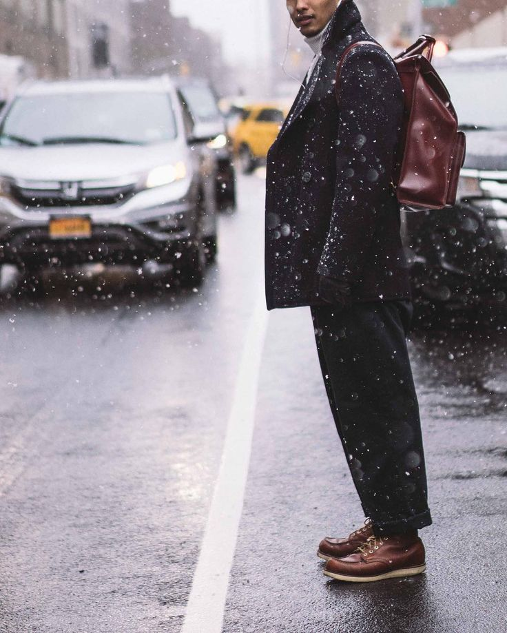 Are you ready? It's snowtime… #MRPORTERontheroad #NYFWM #NYC