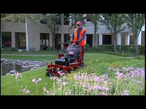Toro GrandStand Commercial Lawn Mower Features & Reviews