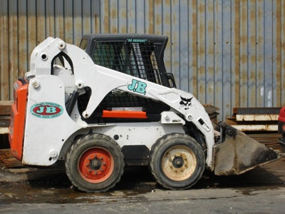 BOBCAT-S-185-SKID-LOADER  Multi-Functional, Versatile Machine  4 in 1 Bucket, Diesel