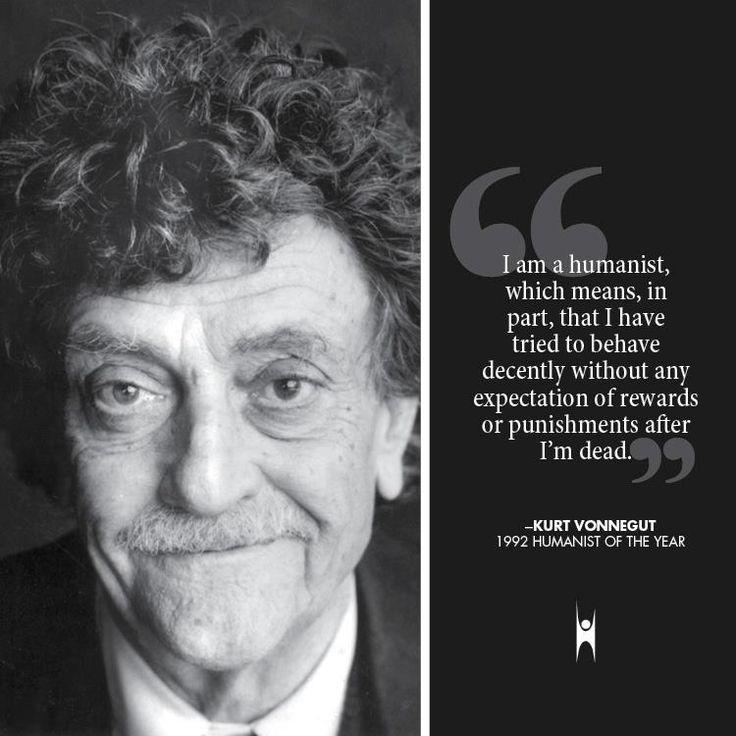 Kurt Vonnegut on being a humanist