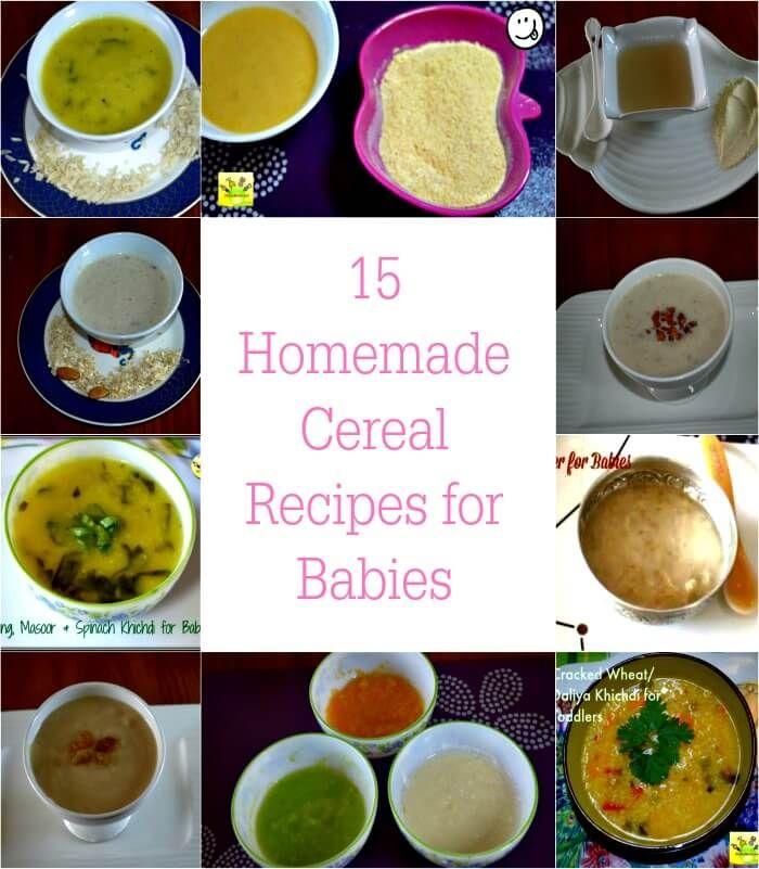 15 Homemade Cereal Recipes for Babies & Toddlers | Baby ...