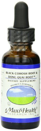 As a woman, you probably have heard of Black Cohosh and Dong Quai Root, but even if you haven't maybe it's something you should know about. Maxi Health put these two herbs in one easy to use liquid supplement. These herbs help normalize and regulate the occasional symptoms of pms, pre-menopause a... more details at https://supplements.occupationalhealthandsafetyprofessionals.com/herbal-supplements/black-cohosh/product-review-for-maxi-health-black-cohosh-root-and-dong-quai