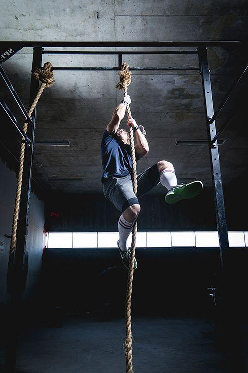 Zeropoint and Jonne Koski rope climb