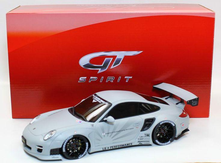 GT Spirit GT126 Porsche 911 997 LB Performance Matte Grey 1:18 Scale