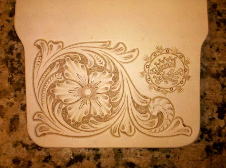 Free Downloadable Leather Carving Patterns The pattern - these ...