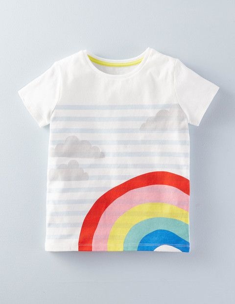 Rainbow T-shirt 31987 Graphic T-Shirts at Boden
