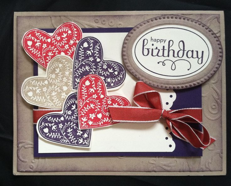 Stampin Up stamp sets Take it to Heart and Perfect Punches    www.chickstampmagnet.blogspot.com