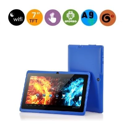 Q89 TABLET   A low price tablet with dual cameras.