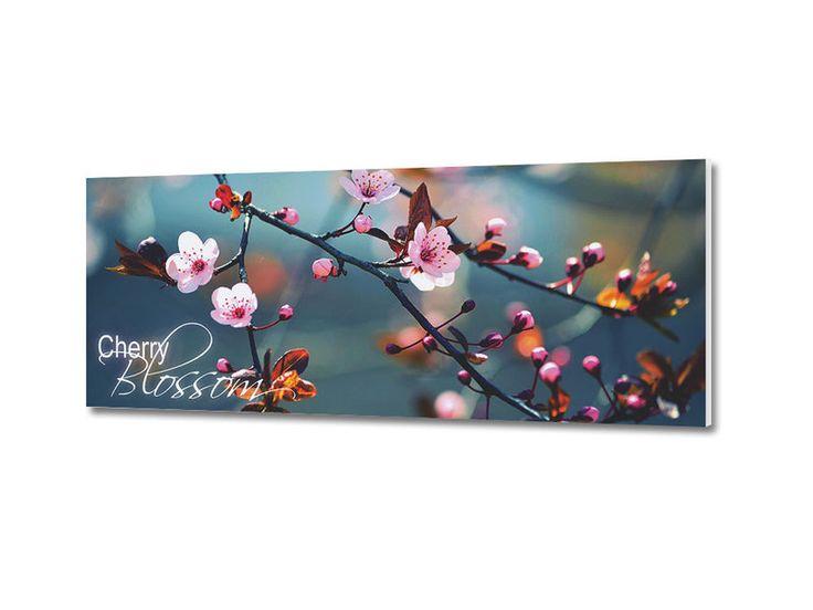 Ideal xcm Hartschaumbild Spruch Cherry Blossom B