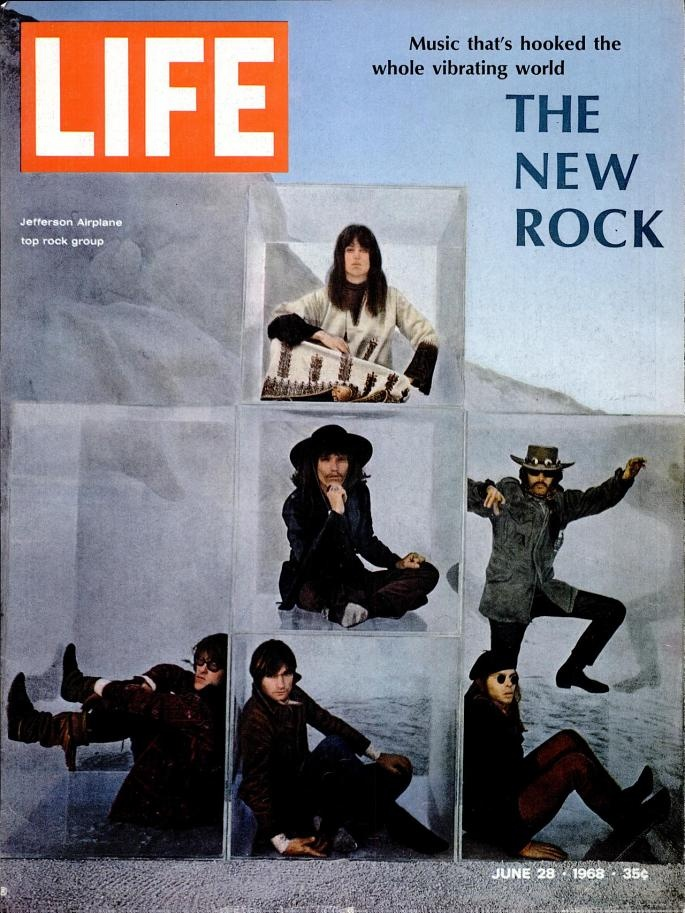 "LIFE Magazine: Jefferson Airplane, ""The New Rock,"" June 1968"