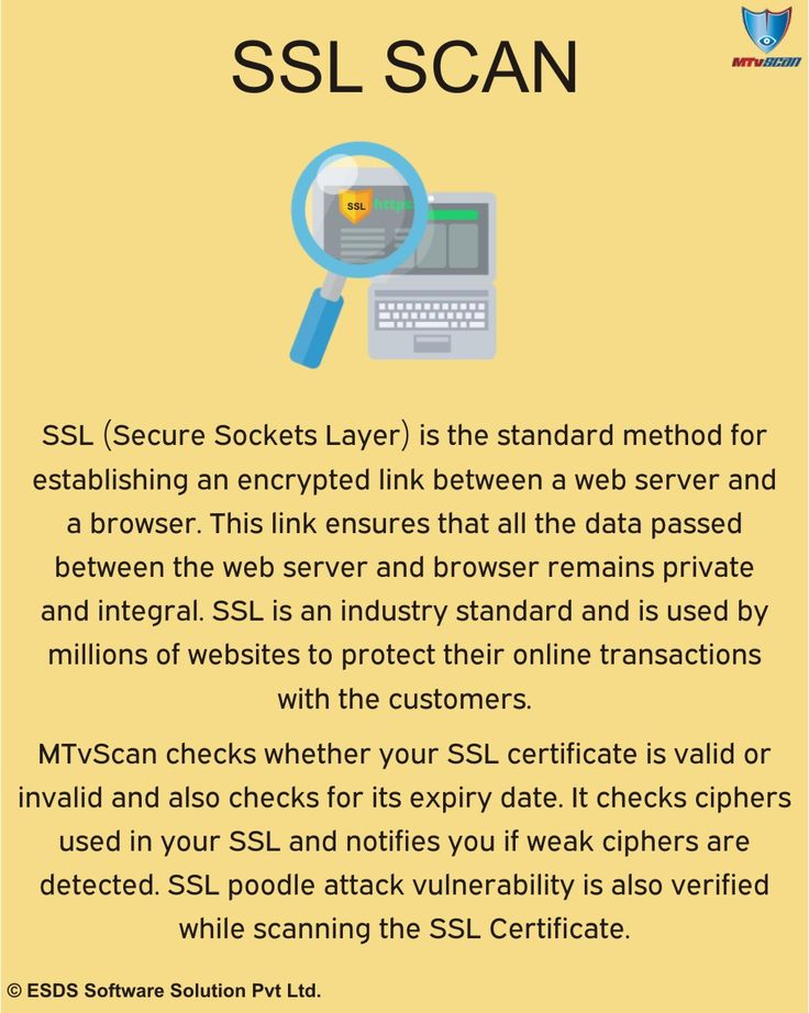 MTvScan checks whetehr your #SSL certificate is valid and also checks for its expiry date. SSL poodle attack #vulnerability is also verified while scanning #SSLCertificate.  #cybersecurity #infosec