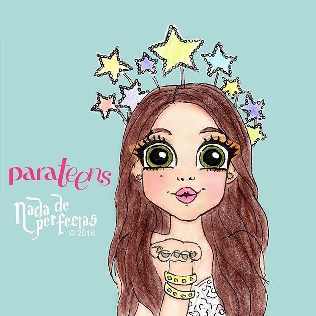 Dibujé una de mis fotos favoritas de @karolsevillaofc! ⭐🎨💫✨ No puedo esperar para tener en mis manos la revista  @parateensonline!!!⭐🌟💫🌟 Te amo Karol! ⭐🌌⭐✨⭐ Gracias por cada me gusta o comentario, cuando eso sucede no puedo parar de saltar, o llorar de emoción y un poco de grito alegre! 😂😂😂 siempre  estas ahí para hacerme sonreir!😁😄✨💫⭐ #karolsevilla #karolista #parateens #dibujos #nadadeperfectas #arte #soyluna #drawings #artwork #mystyle #girlpower #sobreruedas #entrevista…