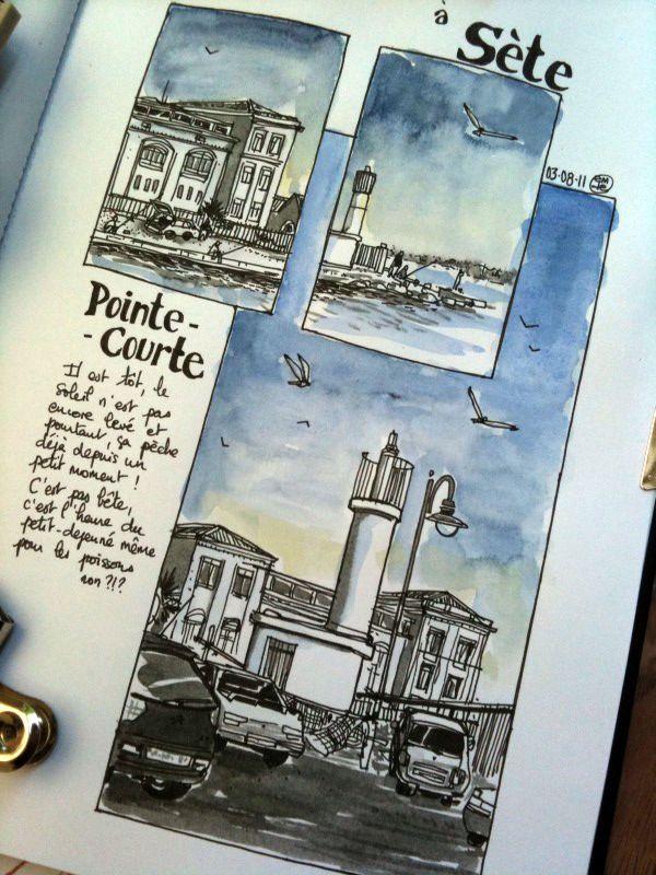 Travel journal - seaside town