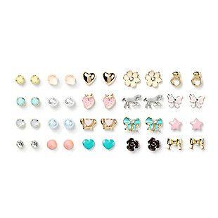 Assorted Girly Stud Earrings Set of 20