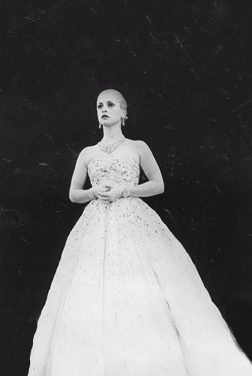 "Patti Lupone in her Tony Award-winning performance from the original ""Evita."""