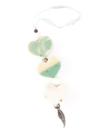 Sweet Basil Herb Rosemary Heart Soap on a Rope #zulilyfinds