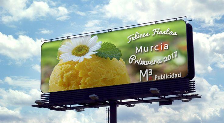 El equipo de M3 Publicidad te desea Felices Fiestas de Primaver, Murcia