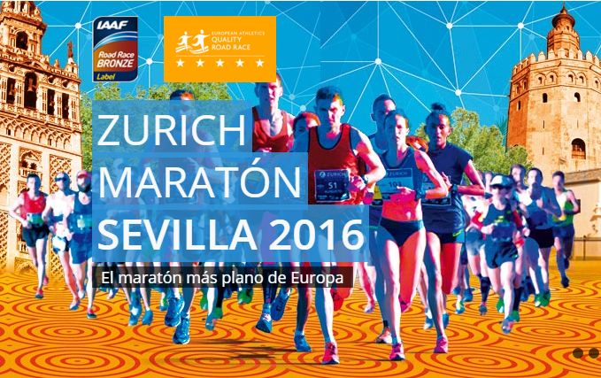 Este pasado domingo, se celebró la Zurich Maratón de Sevilla 2016, el maratón más llano de Europa. !Enhorabuena a todos esos corredores que formaron parte de ella! #ZurichMaratónSevilla