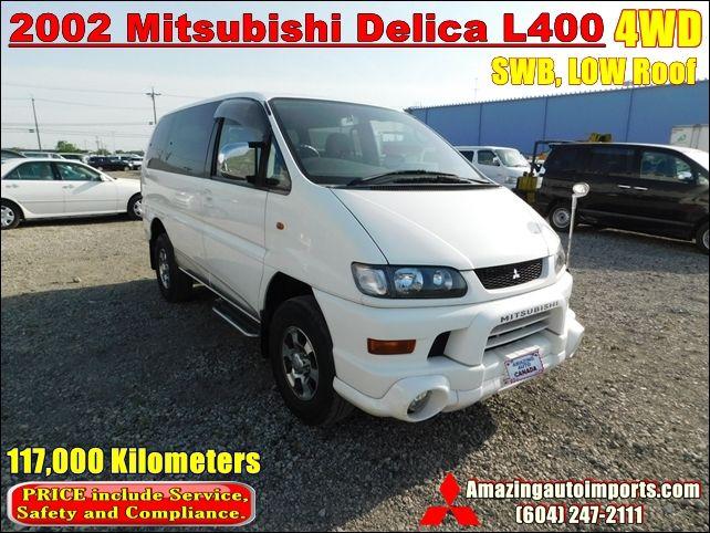 2000 Mitsubishi Delica Gas L400 Low Roof 4wd 73 000 Km Jdmbuysell Com Mitsubishi Delica Gas