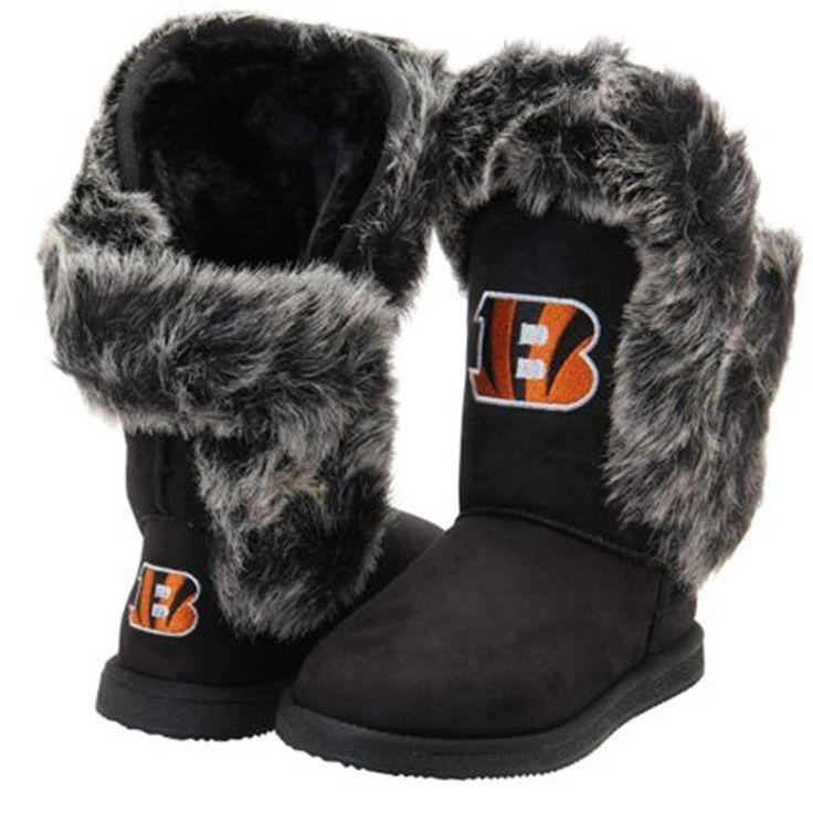 "Cincinnati Bengals Women's Cuce Official NFL ""Champions"" Boots"