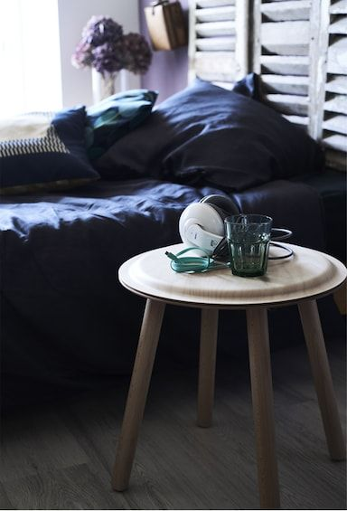 Stool Bedside Table: A Stool Used As A Bedside Table. (With Images)