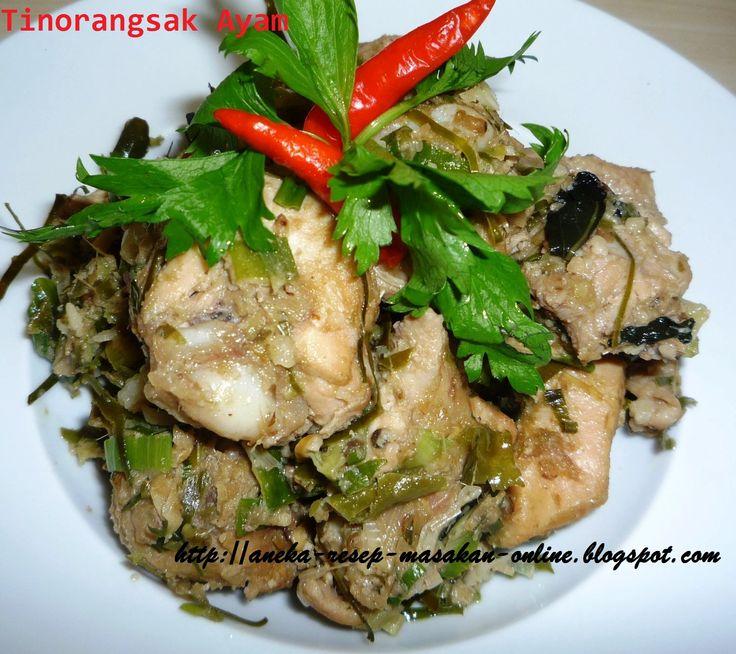 Ayam Tinorangsak  Tinorangsak? apa itu? yuk simak ulasan dan cara masaknya http://aneka-resep-masakan-online.blogspot.com/2015/05/resep-tinorangsak-masakan-khas-manado.html