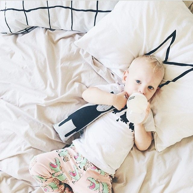 Black Crown Organic Cotton Pillowcases | via Bree and the Boy | www.jenniferandsmith.com