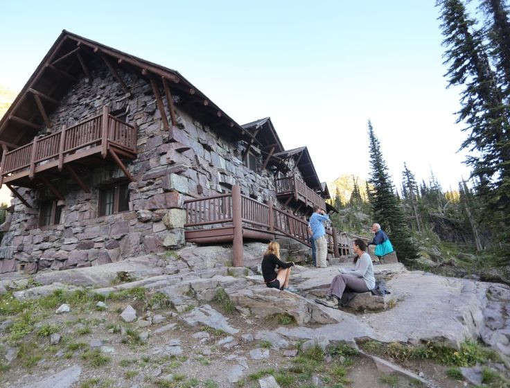 Girlfriends Summer 2016 - Sperry Chalet! Reached via an 8-mile (one-way) hiking trail in Glacier National Park