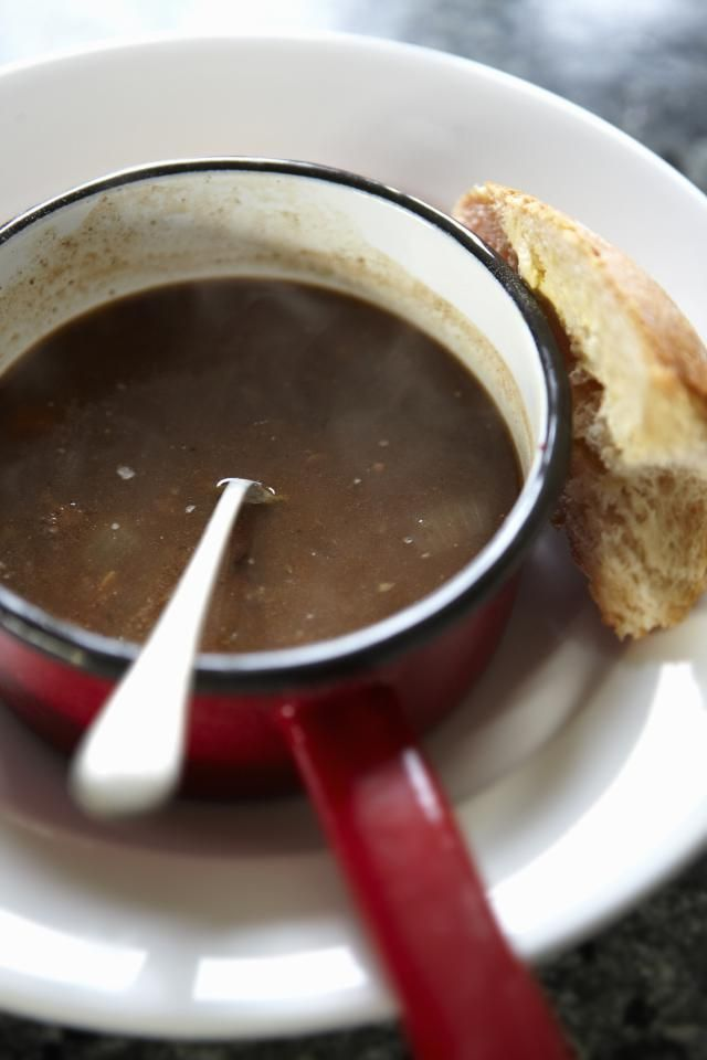 Bourgeois German restaurants often serve oxtail soup. Make yours at home with this recipe.