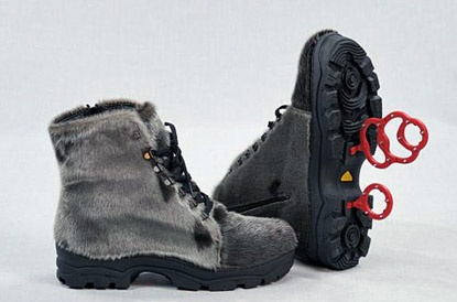 Seal Skin Boots w/ Traction