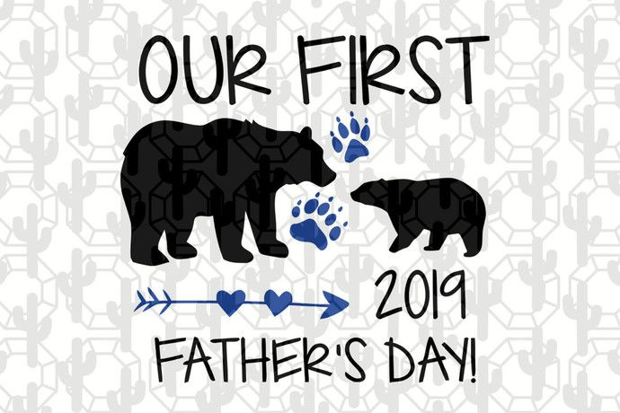 Free In catholic countries of europe. Our First Father S Day Dad Bear First Father S Day Dad Svg Daddy Day Svg Dad Gift Dad Appreciation Gift From Children Awesome Daddy By Designbundlesvg SVG, PNG, EPS, DXF File