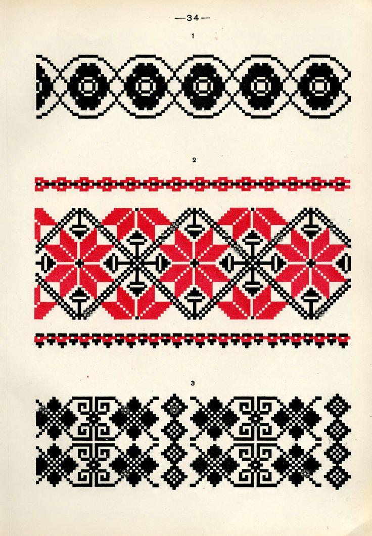 https://flic.kr/p/fQaKq4 | Белорусский народный орнамент - 1953_82 | Belarusian ethnic embroidery