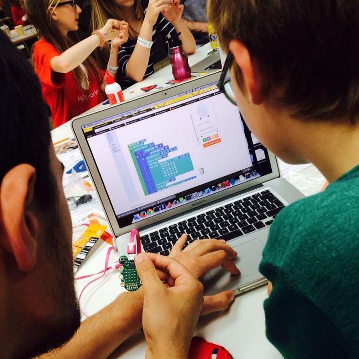 CodeBug in a classroom