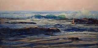 Image result for michael cawdrey art facebook Acrylic seascape