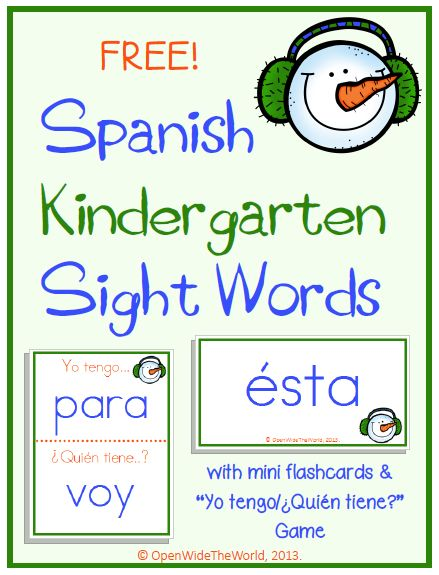 Learn Spanish words: Spanish words Learning Games and ...