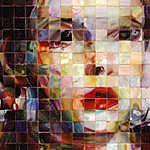 John Ellsberry  geweldig effect bereikt met vierkantjes