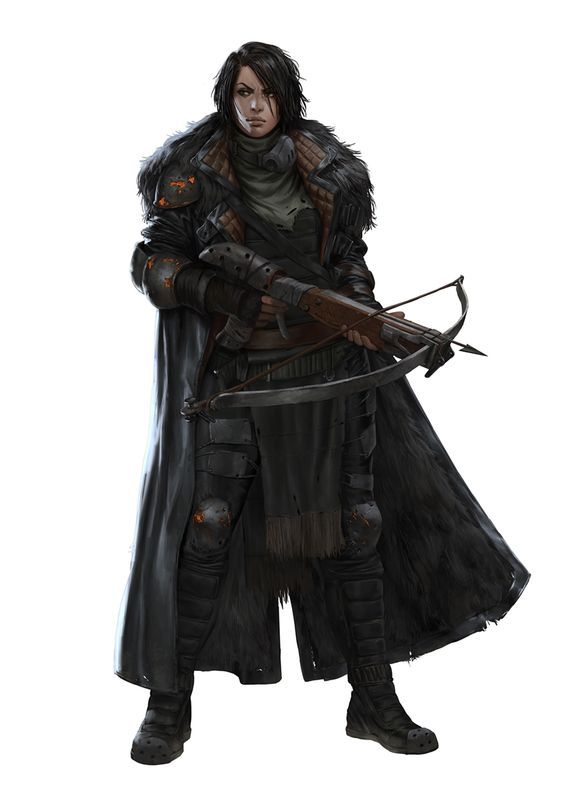 FRANKA by Marko-Djurdjevic | NOT OUR ART - Please click artwork for source | WRITING INSPIRATION for Dungeons and Dragons DND Pathfinder PFRPG Warhammer 40k Star Wars Shadowrun Call of Cthulhu and other d20 roleplaying fantasy science fiction scifi horror location equipment monster character game design | Create your own RPG Books w/ www.rpgbard.com: