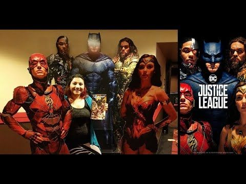 Ep. 50 - Justice League Movie Review + IMAX Free Comic Book