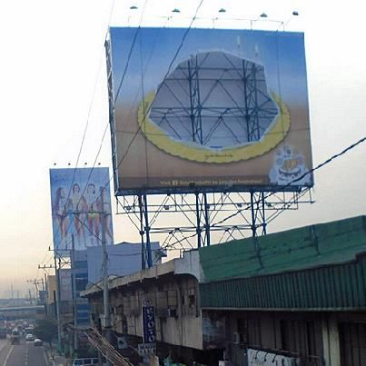 Goldilocks Cake is Missing from the Billboard along EDSA