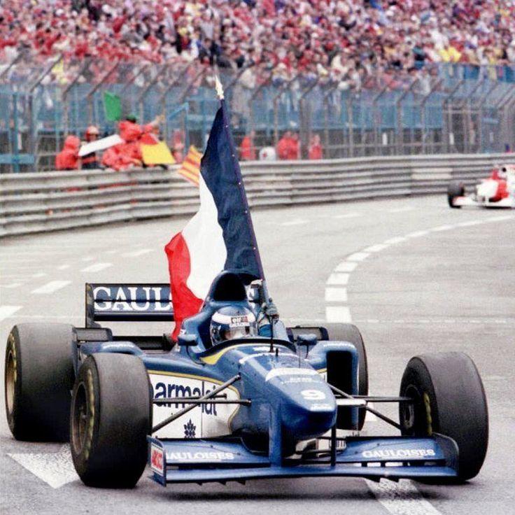 Olivier Panis, Winner Monaco 1996, Ligier JS43... 1st and only F1 win for Olivier...