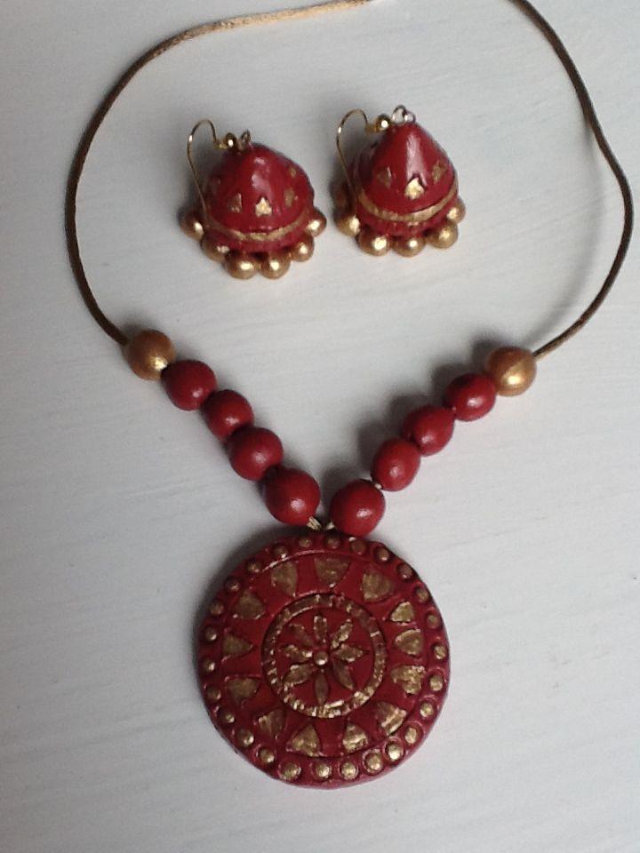 Terra Cotta jewellery – Part II   kalai Ulagam