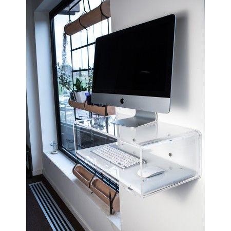 7 best consolle da parete in plexiglass per imac pc images for Consolle plexiglass design