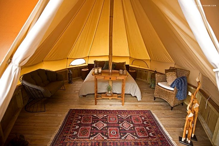 Peaceful and Romantic Bell Tent for Rent near Tauranga, New Zealand