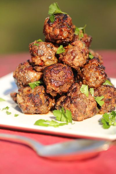 These duck meatballs are so packed full of flavor that you quickly become addicted!