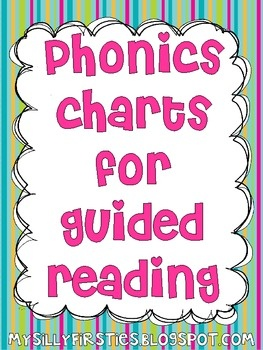 FREEBIE! Phonics Charts