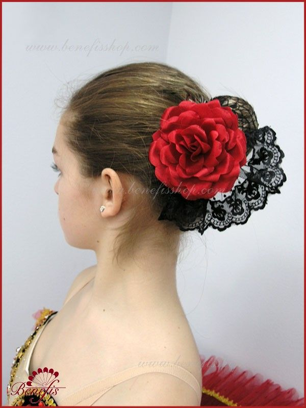 Flower with lace - S 0025 Flower with lace - S 0025